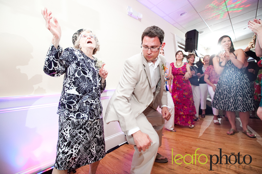 Groom Grandma Dance
