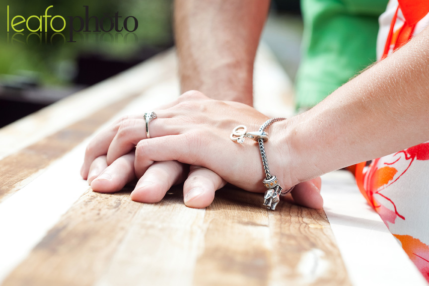 Awesome-Delaware-Photographers, Engagement Photo Close-Up of Couple Holding Hands