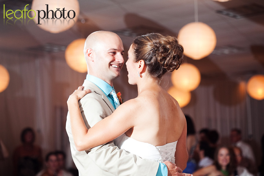 Lewes-Delaware-Wedding-Photographers, Bride and Groom First Dance