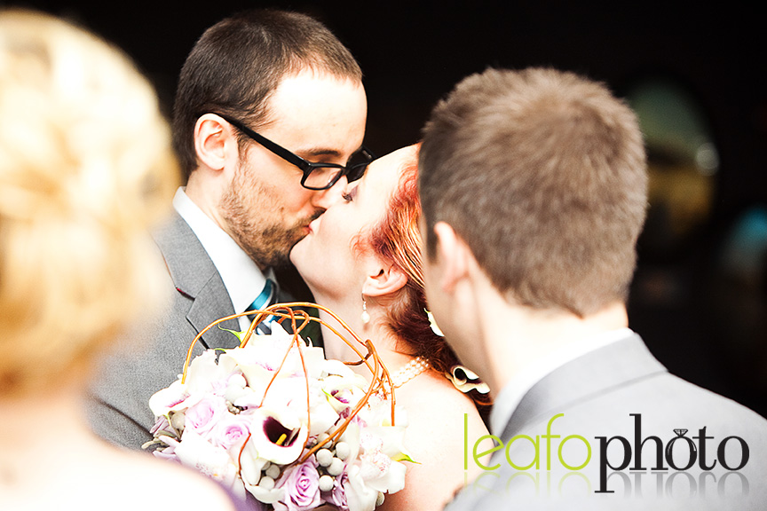 Candid-Delaware-Wedding-Photographers, Couple Kissing