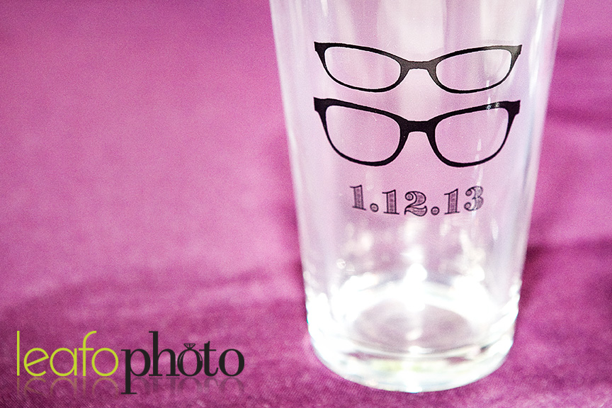 Creative-Delaware-Weddings, Glasses Wedding Favor
