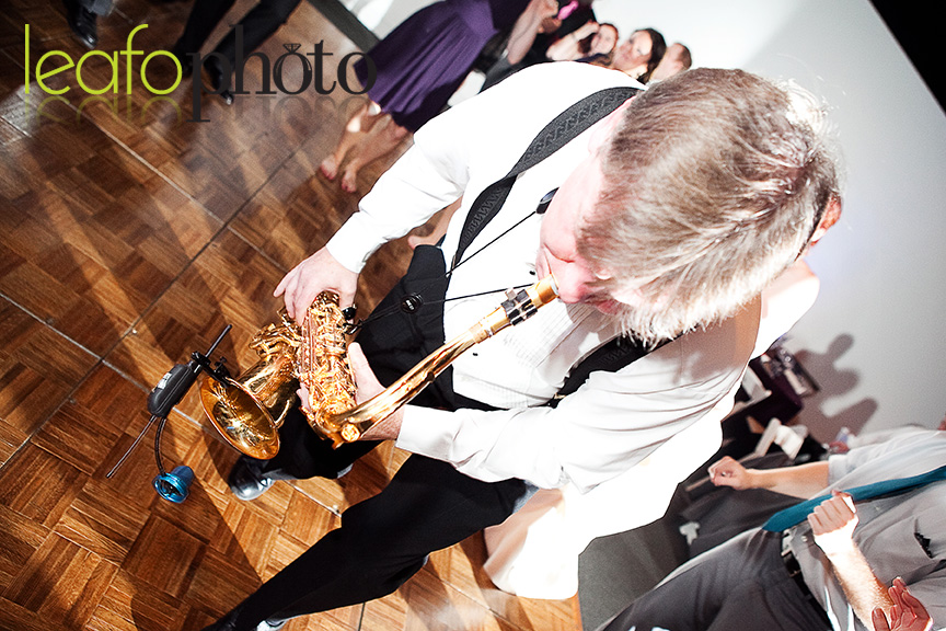 Delaware-Wedding-Receptions, Saxophone