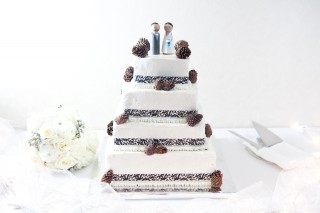 Original Cake for Kris and Kris!
