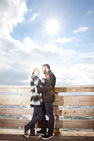 Downtown Dewey Beach Engagement Sesion With Mike & Jen