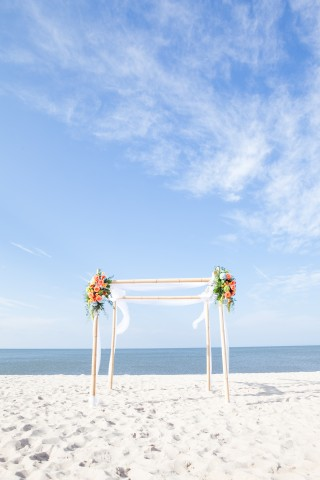 Gorgeous Day For A Delaware Beach Wedding!
